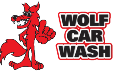 Wolf Car Wash Logo